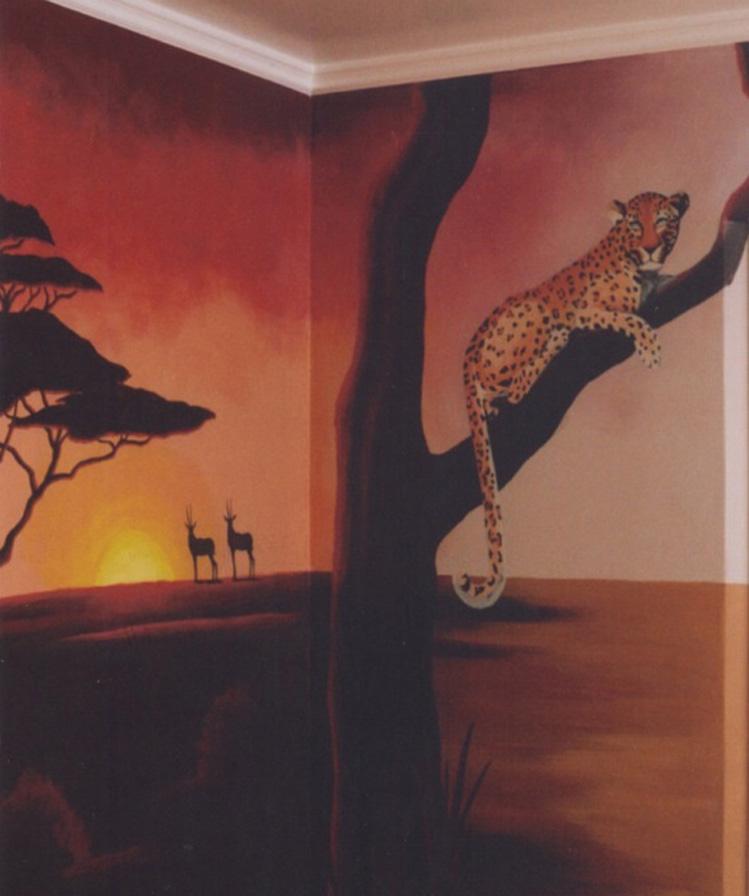 Allyson Wong Murals Wall Art Studio Animals Theme Murals