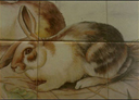 Wall Art by Allyson, Rabbit Panel