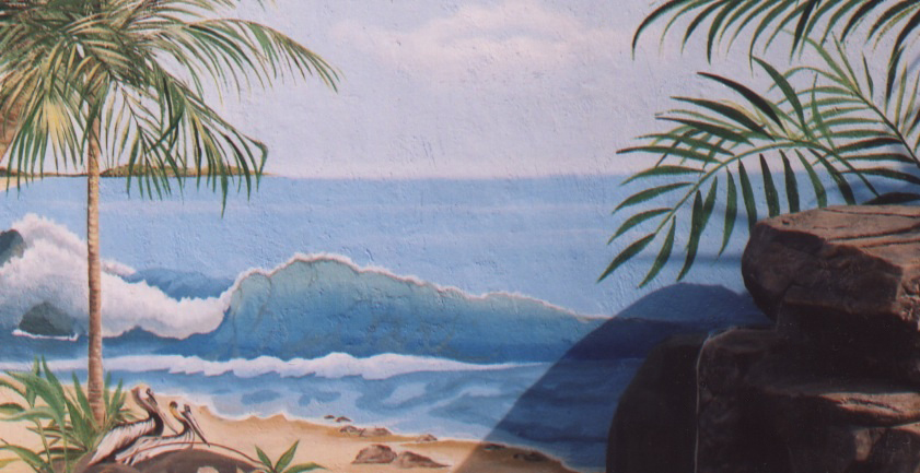Allyson Wong Murals Wall Art Studio Ouside Murals