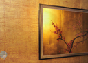 Wall Art by Allyson, asian faux finish in gold,faux finish, decorative painting,metallic gold wall finish,
